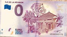 BILLET 0 EURO SOUVENIR TOURISTIQUE  ILE DE LA REUNION 2018