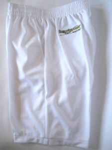 New! Bowlswear Men's White Comfort Fit Shorts Only $42 with Free Postage!