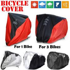 Single/Double/Triple Bicycle Bike Cycle Cover Waterproof Rain Dust UV Protection