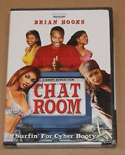 CHAT ROOM (DVD, 2002) SURFIN' FOR CYBER BOOTY COMEDY BRIAN HOOKS R1 BRAND NEW