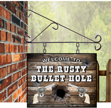 Personalised Hanging Bar sign, 30 x 20 , shed pub, Custom Man Cave Grill BBQ