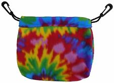 Sleeping Pouch (Tie Dye) for Sugar Gliders and small pets
