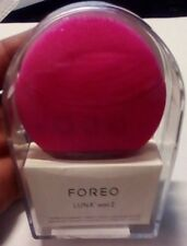 ~FOREO~ LUNA MINI 2 T-Sonic Facial Cleansing Silicon Brush FUSCHIA open Item