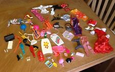 Huge Lot of 90's Barbie Doll Clothes & Accessories Ice Skating Outfit Dalmation