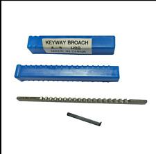 3mm A Push Type Keyway Broach Cutter Hss Metric Size Cnc Machine Cutting Tool Tx