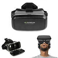 VR Virtual Reality 3D Glasses Headband For Samsung Note 5 4 3 S6 S5 S4 LG G3 G4
