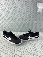 Nike Court Royale Black Synthetic Lace Up Low Top Shoes Men's Size 8