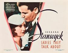 Ladies They Talk About - 1933 - Barbara Stanwyck Preston Foster Pre-Code DVD