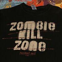 Resident Evil Zombie T Shirt Black Video Games Horror Capcom Zombies Gamer Tee