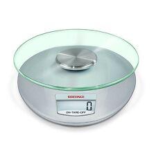Soehnle 65856 Roma Silber Küchenwaage digitale Anzeige bis 5 kg Tragkraft