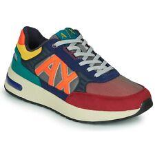 Sneaker uomo Armani Exchange in ecosuede/ tessuto multicolore U21AX05