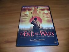 To End All Wars (DVD, 2004, Full Frame/Widescreen) Kiefer Sutherland Used OOP