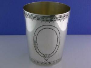 George III Silver Beaker / Julep Cup PETER & ANN BATEMAN London c1791