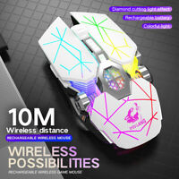 X13 Wireless Gaming Mouse USB Rechargeable 2.4GHz Bluetooth Mouse for PC Laptop
