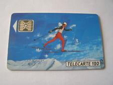 telecarte ski de fond 120u ref phonecote F206