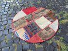 Patchwork rug, Turkish area rug, Vintage wool rug, Handmade rug | 3,3 x 3,3 ft