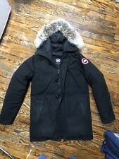 canada goose mens expedition parka Original M / M Black Jacket Coat