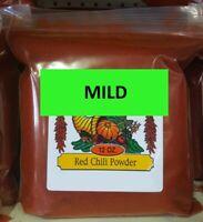 Mild Red Chili Powder 12 oz Authentic New Mexico Hatch Chile Rojo Molido Spice