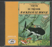 Tintin Le Trésor De Rackham Le Rouge Cd Video (no dvd) Mpeg System Citel