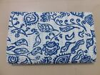 Indian Fab Hand Quilted Floral Queen Ralli kantha quilt Bedspread Blanket Gudri
