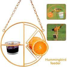 Garden Bird Feeder Outdoor Oriole Home Hanging Automatic Hummingbird