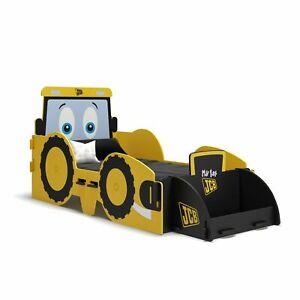JCB Junior Bed Children's Boy Toddler Kid Tractor Digger Industrial Style