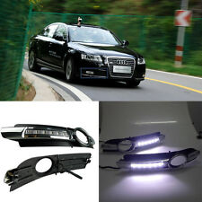 LED Daytime Running Light For Audi A6 A6L C6 Car Fog DRL 2005 2006 2007 2008