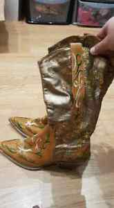 Cowgirl Line dancing boots