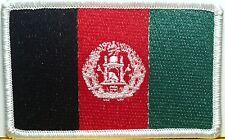 AFGHANISTAN Flag Patch with VELCRO® Brand Fastener Biker Military Police Emblem