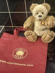 Charlie Bears - Wolfgang, CB104740, Perfect With Tags And Bag