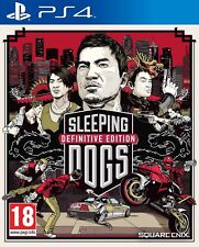 Sleeping Dogs Definitive Edition Sony PS4 * PLAYSTATION 4 * BRAND NEW & SEALED *