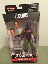 NEW IN BOX MARVEL LEGENDS GREEN GOBLIN FIGURE Spiderman sandman line
