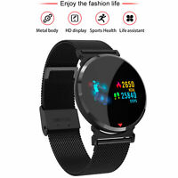 Cardiofrequenzimetro impermeabile impermeabile Smart Watch per iOS Android x 1