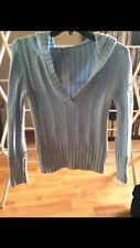 Anchor Blue Size Medium Woman's Sweater