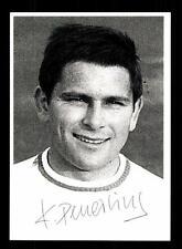 Karl Deuerling Autogrammkarte Bayern München Spieler 60er Jahre Original Sign
