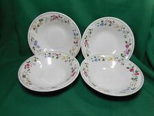 Farberware Stoneware 4 Salad/Soup  Bowls  English Garden