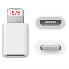 New 5pcs Micro USB to Lightning Charger Converter Adapter For iPhone 6 5 5S