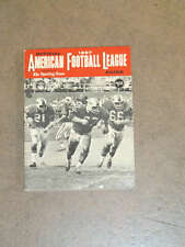 AFL SPORTING NEWS FOOTBALL GUIDE - 1967 - EX SHAPE