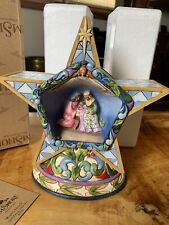 Jim Shore 2009 Winter's Miracle Silent Star Winter Lighted Nativity #4015888