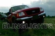 2001 2002 2003 Ford Ranger Halos Fog Lights Angel Eyes Driving Lamps