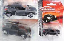 Majorette 212053052 Renault Megane Coupé schwarz Sammlerflyer 1:64 PREMIUM CARS