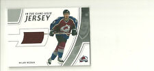 MILAN HEJDUK 2002-03 BE A PLAYER IN THE GAME USED JERSEY COLORADO AVALANCHE SP