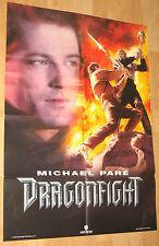 """Dragonfight """"Michael Paré"""" Filmplakat / Poster A1 ca 60x84cm"""