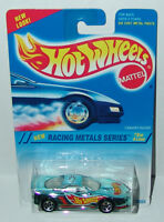 Hot Wheels Racing Metals Blue Chrome with Jack Baldwin Sp5's #338 Malaysia 1995