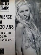 LAURENT TERZIEFF BUSTE DE BARDOT VIERGE A 20 ANS NOIR ET BLANC N° 1355 de 1971