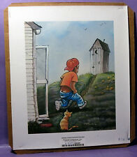 """Signed Lithograph PERSONAL PREFERENCE ON CANVAS UNFRAMED 10"""" X 12"""""""