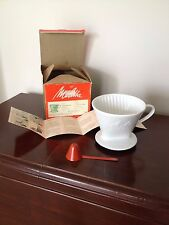 Vintage Porcelain Melitta Coffee Filter From Germany In Box