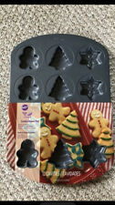 New listing New Wilton Holiday Shapes 12 -Cavity Cookie Pan New !