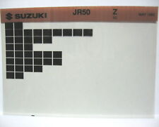 Suzuki JR50 1982 Parts Microfiche s110