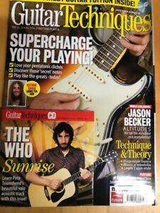 Guitar Techniques Magazine & CD: December 2009